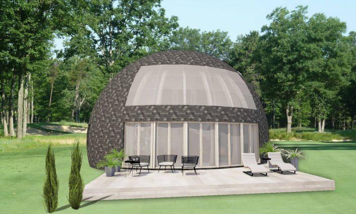 Dome4you.com - kupolinių namų fasadai